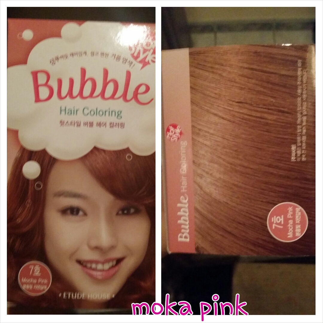 Review Etude House Bubble Hair Coloring Stay Pretty And Be Happy