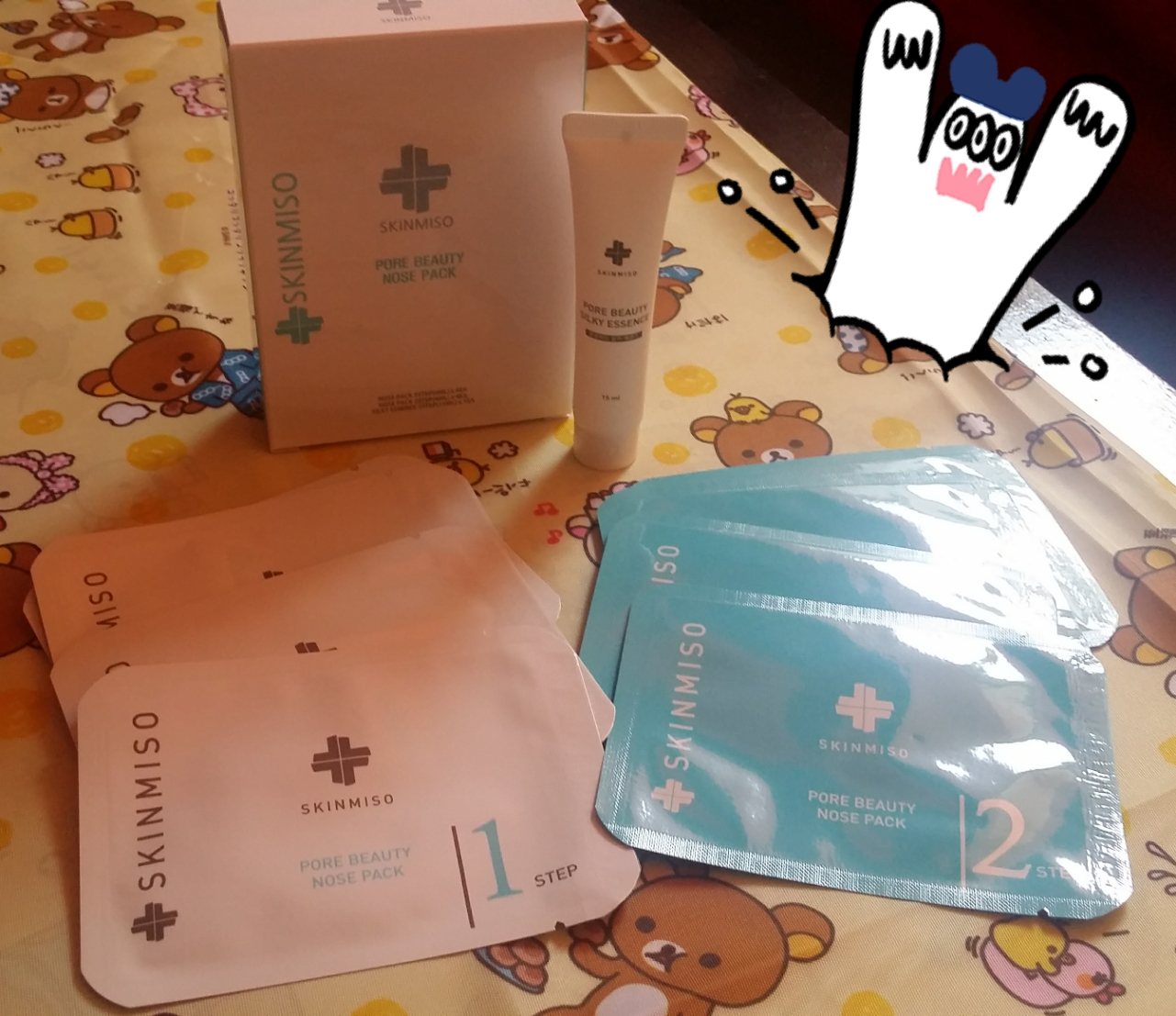 skinmiso pore beauty nose pack instructions